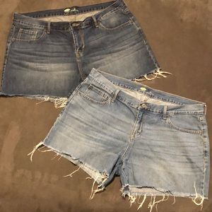 Bundle of Old Navy Jean Shorts